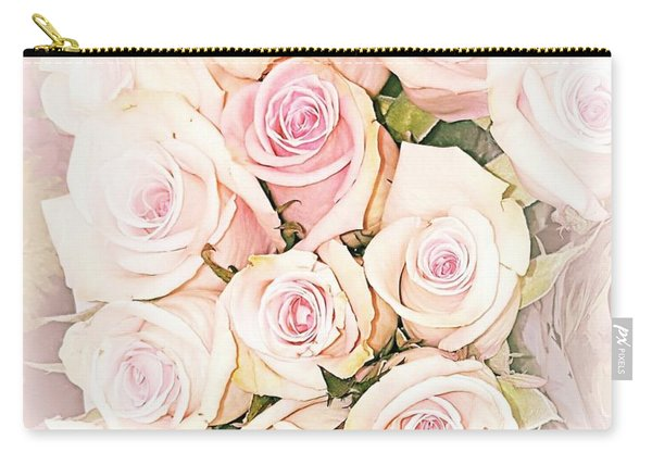 Pretty Roses Carry-all Pouch