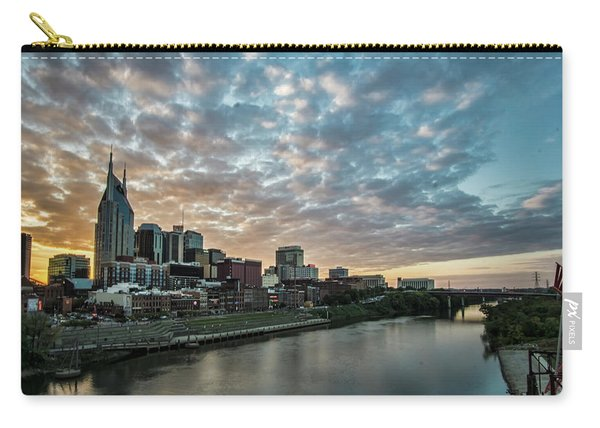 Pretty Sky And Nashville Skyline Carry-all Pouch
