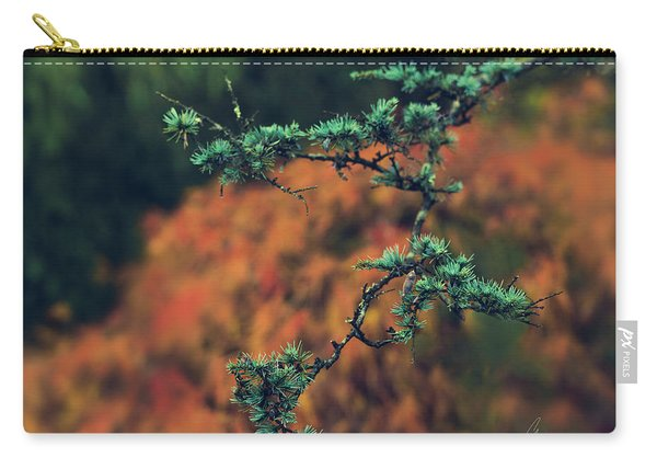 Prickly Green Carry-all Pouch