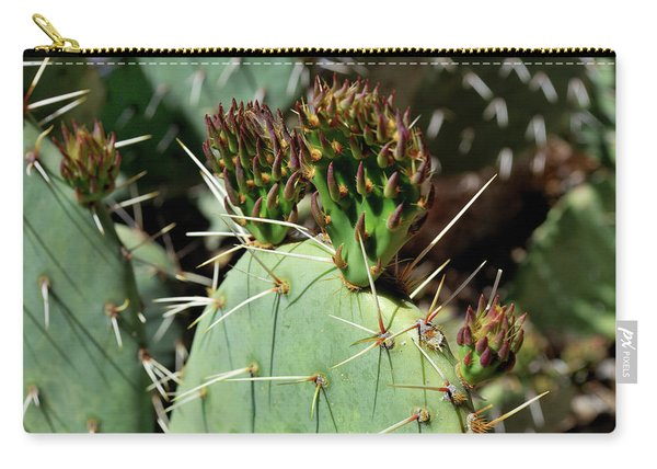 Prickly Pear Buds Carry-all Pouch