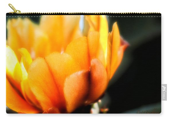 Prickly Pear Flower Carry-all Pouch