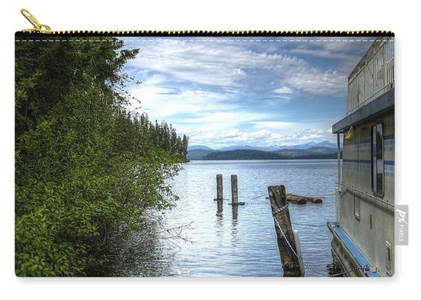 Priest Lake Houseboat 7001 Carry-all Pouch