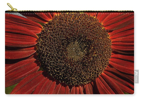 Primitive Sunflower 2 Carry-all Pouch