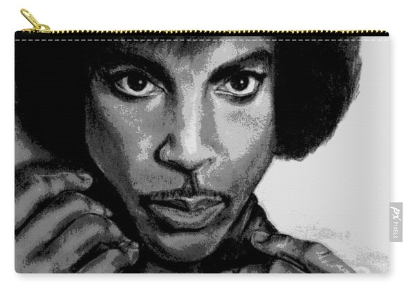 Prince Art - Pencil Drawing From Photography - Ai P. Nilson Carry-all Pouch