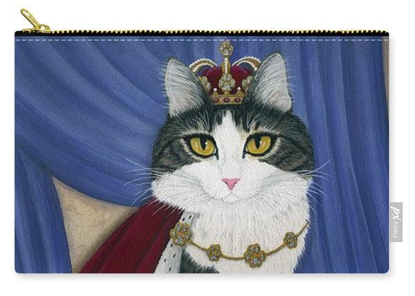 Prince Anakin The Two Legged Cat - Regal Royal Cat Carry-all Pouch