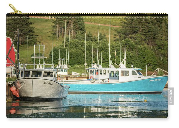 Prince Edward Island Lobaster Boats Carry-all Pouch