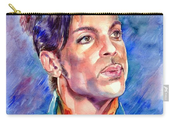 Prince Rogers Nelson Super Bowl 2007 Portrait Carry-all Pouch