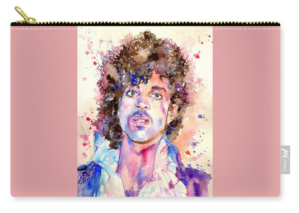 Prince Rogers Nelson Watercolor Carry-all Pouch
