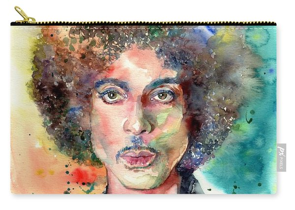 Prince Rogers Nelson Young Portrait Carry-all Pouch