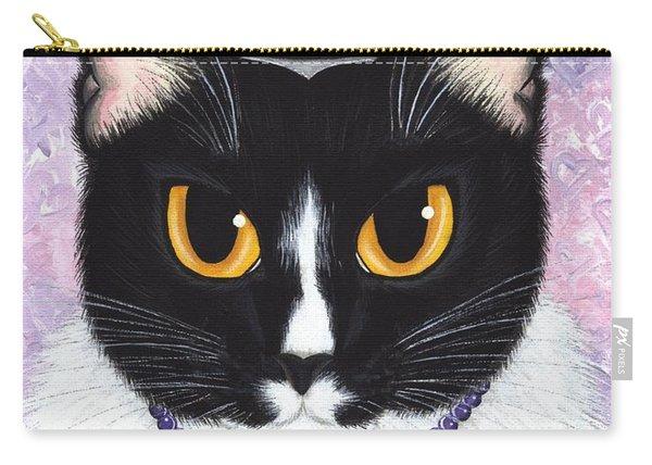 Princess Fiona -tuxedo Cat Carry-all Pouch