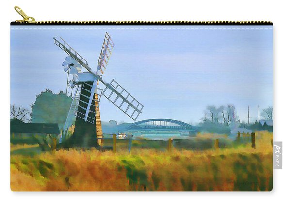 Priory Windmill Carry-all Pouch