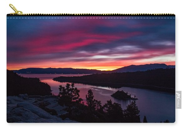 Prismatic Emerald Bay Sunrise Carry-all Pouch