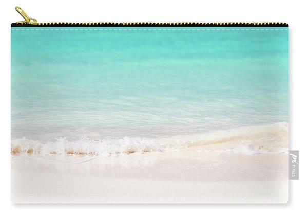 Pristine Water And White Sand Carry-all Pouch