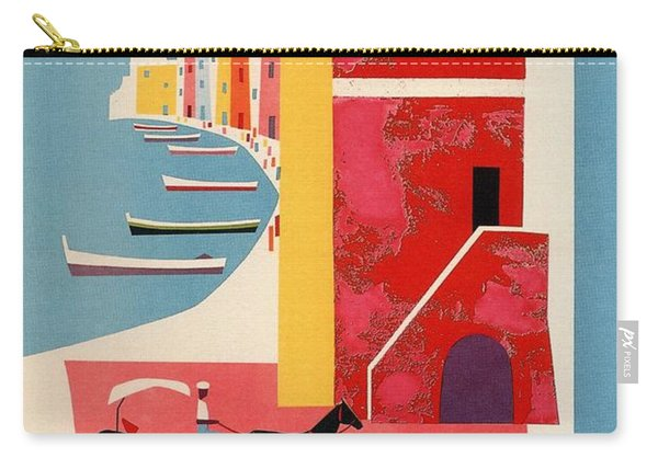 Procida - Naples, Italy - The Island Of Tranquility - Retro Travel Poster - Vintage Poster Carry-all Pouch