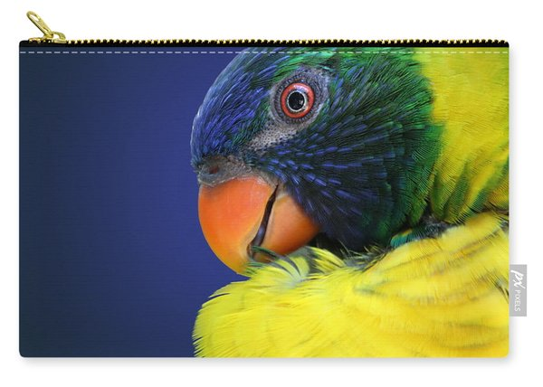 Profile Of A Lorikeet Carry-all Pouch