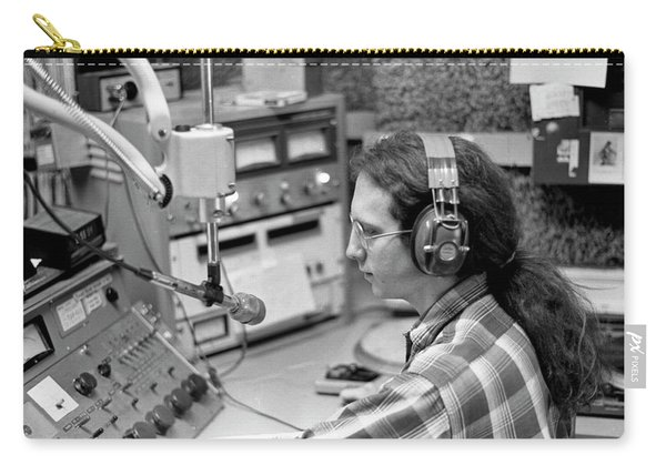 Progressive Rock Disc Jockey, 1975 Carry-all Pouch