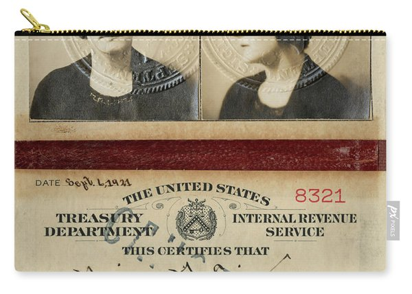 Prohibition Agent Carry-all Pouch