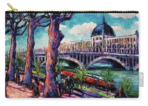 Promenade Along The Rhone Carry-all Pouch