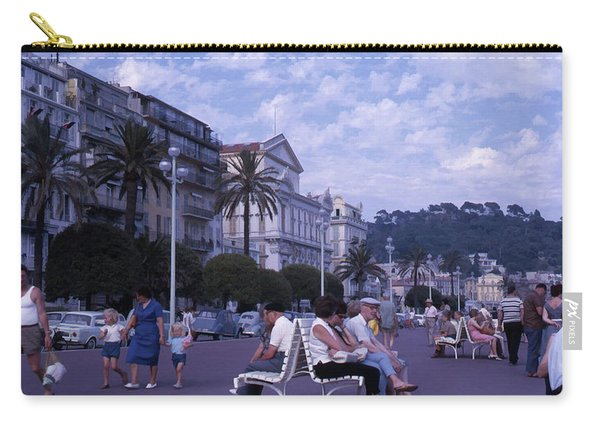 Promenade Des Anglais, Nice, France Carry-all Pouch