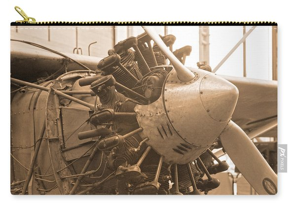 Propelling History Carry-all Pouch