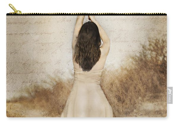 Protection Painted Lady Carry-all Pouch