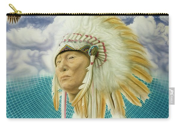 Proud As An Eagle Carry-all Pouch