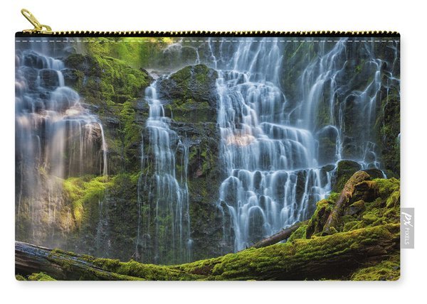 Proxy Falls Dappled In Light Carry-all Pouch