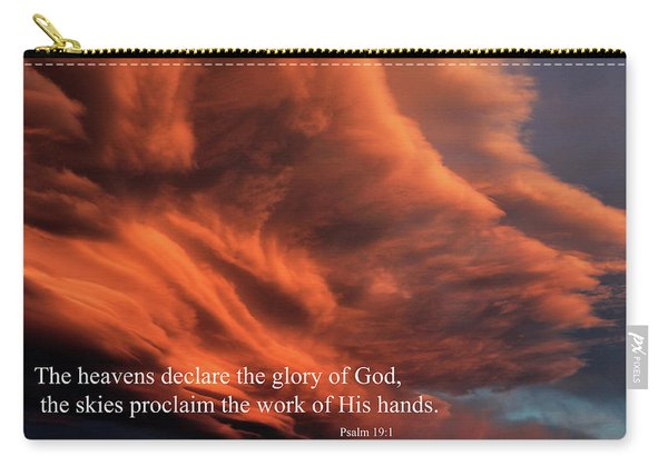 Psalm 19-1 Carry-all Pouch