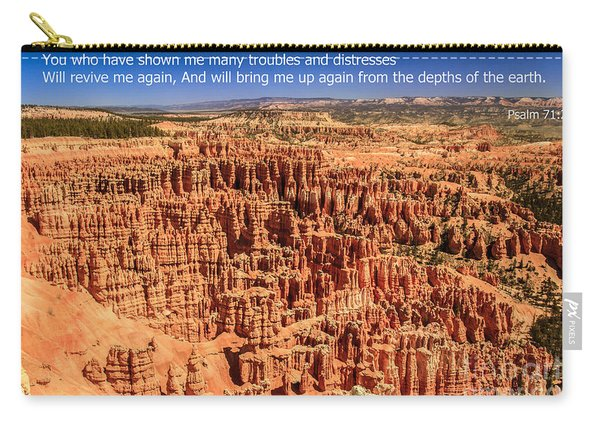 Psalm 71 Carry-all Pouch
