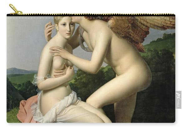 Psyche Receiving The First Kiss Of Cupid Carry-all Pouch