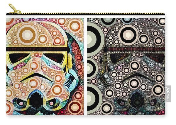 Psychedelic Binom Carry-all Pouch