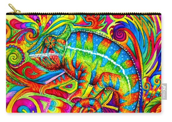 Psychedelizard Carry-all Pouch