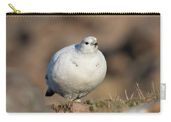 Ptarmigan Going For A Stroll Carry-all Pouch