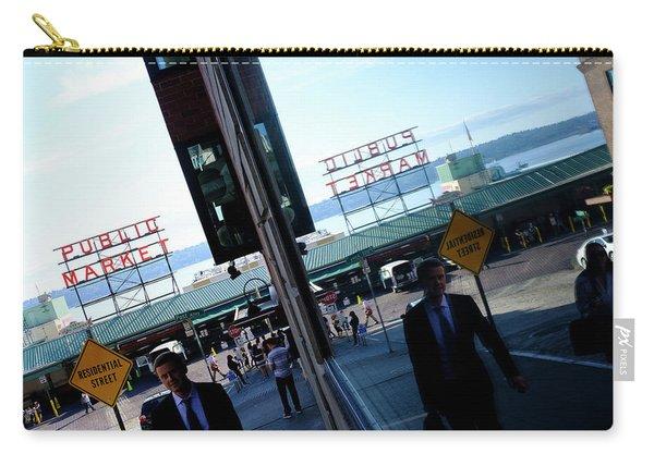 Public Market In Seattle Washington Carry-all Pouch