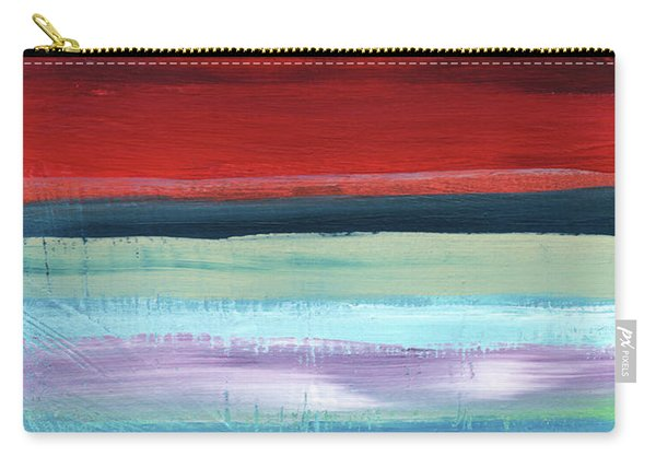 Pueblo- Abstract Art By Linda Woods Carry-all Pouch