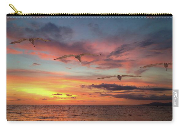 Puerto Vallarta Pelicans Carry-all Pouch
