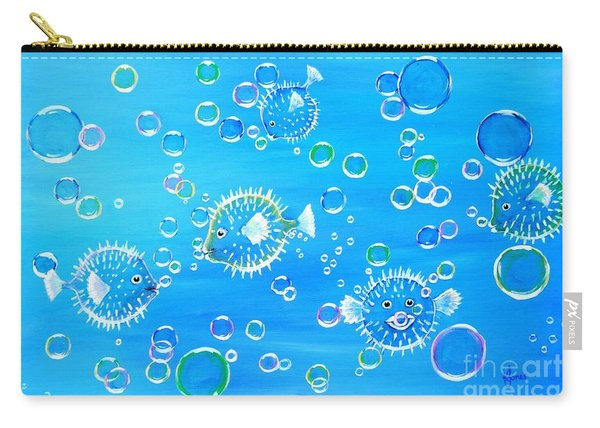 Pufferfish Playtime Carry-all Pouch