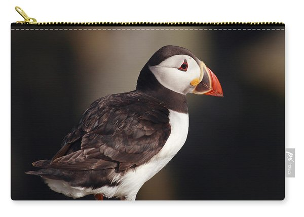 Puffin On Rock Carry-all Pouch