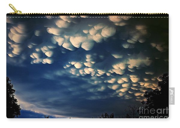 Puffy Storm Clouds Carry-all Pouch