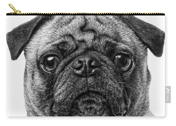 Pug T-shirt Carry-all Pouch