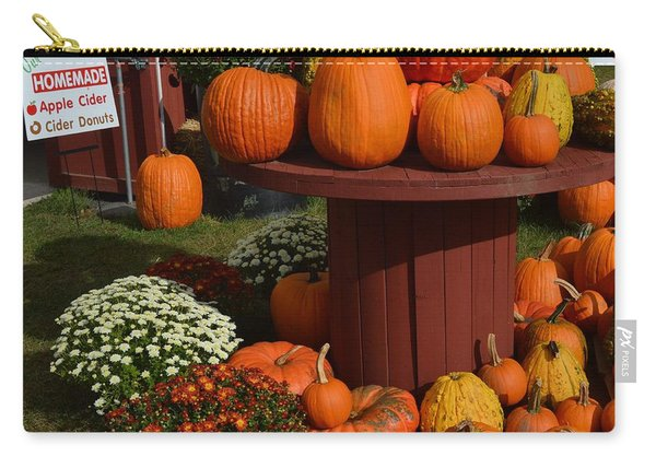 Pumpkin Display Carry-all Pouch