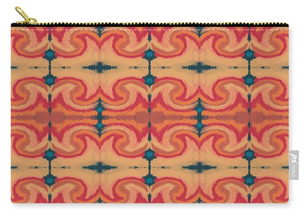 Pumpkin Spice 2- Art By Linda Woods Carry-all Pouch