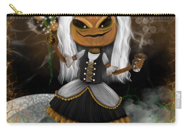 Pumpkin Spice Latte Monster Fantasy Art Carry-all Pouch