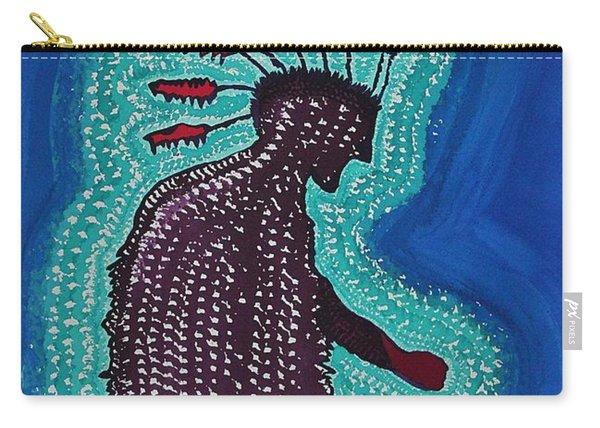 Punk Shaman Original Painting Carry-all Pouch