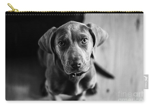 Puppy - Monochrome 1 Carry-all Pouch
