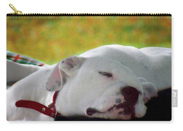 Bulldog Puppy Art  3 Carry-all Pouch