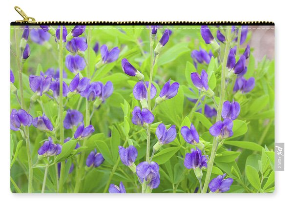 Purple Beauties Carry-all Pouch