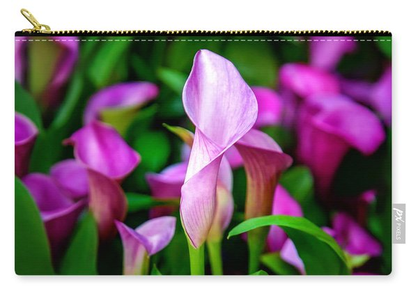 Purple Calla Lilies Carry-all Pouch