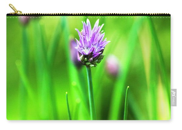 Purple Chives Carry-all Pouch
