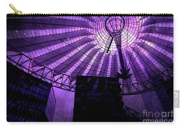 Purple Cosmic Berlin Carry-all Pouch